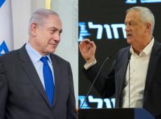 Netanyahu e Gantz declaram vitória enquanto boca de urna indica impasse em Israel