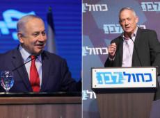 Israel: Boca de urna mostra disputa acirrada entre Netanyahu e Gantz, com desvantagem para premiê