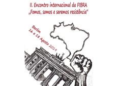 Coletivos de brasileiros no exterior realizam encontro internacional em Berlim contra retrocessos no Brasil