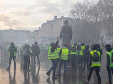França mobiliza militares para impedir violência em manifestações dos 'coletes amarelos'