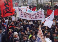 Protestos contra reforma da previdência na França levam mais de 1 milhão às ruas, afirmam sindicatos