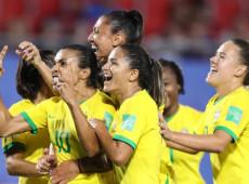 Mundial feminino: Brasil vence Itália e se classifica para oitavas