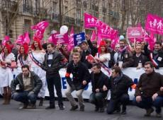 As ruas não pertencem mais à esquerda na França
