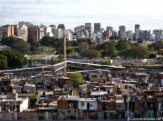 Pobreza na Argentina atinge um terço da população urbana