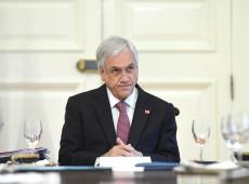 Não compartilho da alusão feita por Bolsonaro sobre Bachelet, diz Piñera