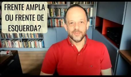 #AOVIVO - #20Minutos #BrenoAltman: Frente ampla ou frente de esquerda?
