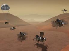 Nasa planeja enviar drone à maior lua de Saturno