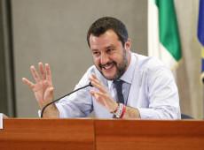 Oposição da Itália apresenta moção para derrubar Salvini
