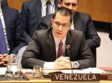 Na ONU, chanceler da Venezuela reitera posição do país a favor do diálogo