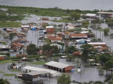 Sobe para 62 mil o número de lares afetados pelas inundações no Paraguai