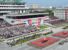 Fotos: Coreia do Norte comemora 70 anos de fundação com parada militar