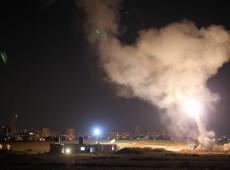 Defesa antiaérea síria dispara contra mísseis de Israel próximo às Colinas de Golã