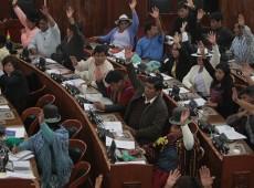 """""""O povo boliviano vive a maior revolução social"""", afirma García Linera"""