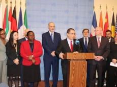 Venezuela anuncia formação de grupo na ONU para defesa do direito internacional