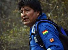 Evo se junta a voluntários para apagar incêndios na Amazônia boliviana; veja fotos