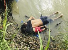 Foto de pai e filha afogados na fronteira dos EUA simboliza drama de migrantes