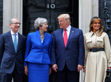 Trump propõe acordo comercial entre Reino Unido e EUA após Brexit