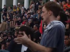 Manifestantes saem às ruas um ano após violência em Charlottesville