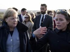 """""""Humanidade deve demonstrar humildade perante a natureza"""", diz Merkel"""