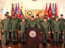 Em comunicado, Forças Armadas da Venezuela reiteram 'obediência, subordinação e lealdade' a Maduro