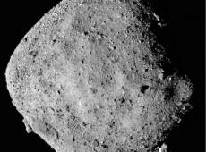 Sonda da Nasa encontra evidências de presença de água em asteroide