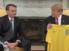 'Brasil e EUA nunca estiveram tão próximos como agora', diz Trump, ao lado de Bolsonaro