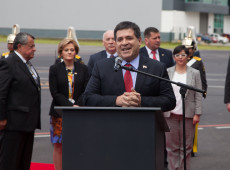 Ex-presidente paraguaio Horacio Cartes é alvo de nova fase da Lava Jato