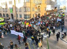 Greve pelo clima reúne mais de 1 milhão de pessoas na Itália