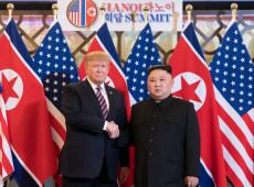 Novo encontro entre Trump e Kim Jong-un é improvável, diz chancelaria norte-coreana