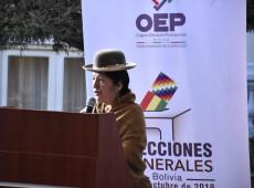 Presidente do TSE da Bolívia rechaça acusações de fraude em eleições
