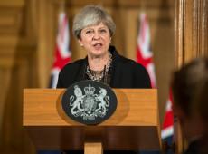 May diz que vai pedir à UE novo adiamento do Brexit e chama oposição para tentar acabar com impasse