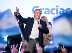 Argentina: nova pesquisa dá 23 pontos de vantagem de Fernández sobre Macri