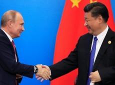 Em contraste com G7, China e Rússia exibem unidade