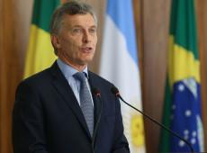 Macri anuncia congelamento no preço de produtos para tentar conter inflação na Argentina