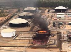 Tanque em instalação petrolífera na Venezuela registra explosão; governo fala em atentado