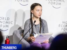 Davos assiste choque entre Greta Thunberg e Trump sobre o clima