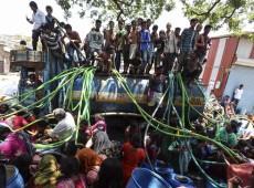 Urbanização desordenada e mudança no clima provocam pior crise de água da história da Índia