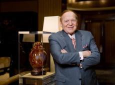 Conheça Sheldon Adelson, bilionário que convenceu Trump a mudar embaixada para Jerusalém