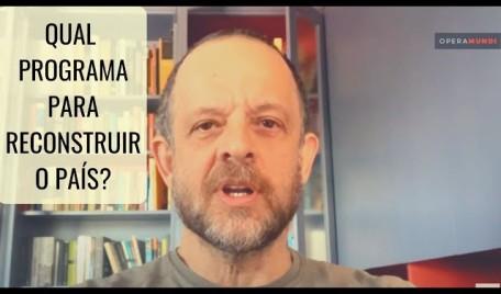 #AOVIVO - #20Minutos #BrenoAltman: Qual programa para reconstruir o país?