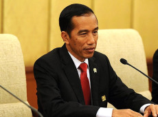 Resultados apontam reeleição do atual presidente da Indonésia, Joko Widodo