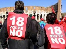 Trabalhadores italianos reagem às propostas de reforma do governo Renzi