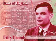 Rosto do matemático Alan Turing é escolhido para estampar nova nota de 50 libras na Inglaterra