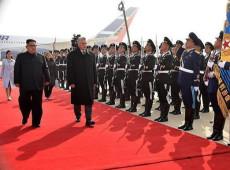 Kim Jong-un recebe presidente de Cuba em Pyongyang