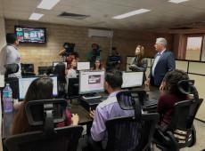 Emissora teleSur inaugura filial em Cuba