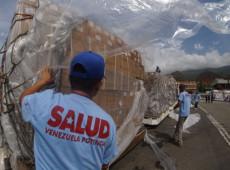 Venezuela recebe 69 toneladas de medicamentos da China