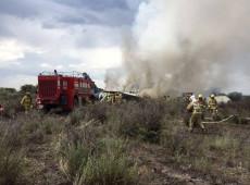 México começa a investigar acidente de avião da Embraer que deixou dois feridos graves