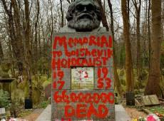 Túmulo de Marx em Londres é atacado pela segunda vez em duas semanas