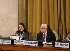 Em comissão da ONU, embaixador da Venezuela denuncia bloqueio econômico dos EUA