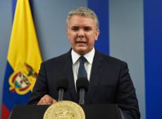 Na TV, Duque diz que 'está escutando', mas não fala sobre pautas da greve geral da Colômbia