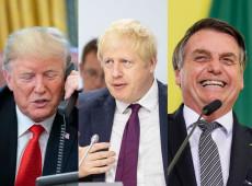 Trump, Bolsonaro e Boris: ultradireita mundial tenta o tudo-ou-nada